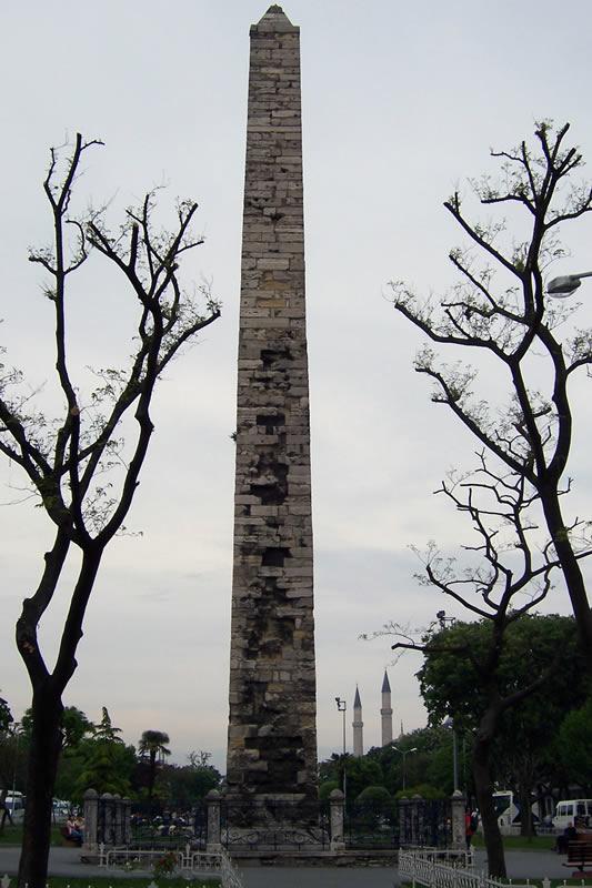 یادگاری از روم باستان در استانبول