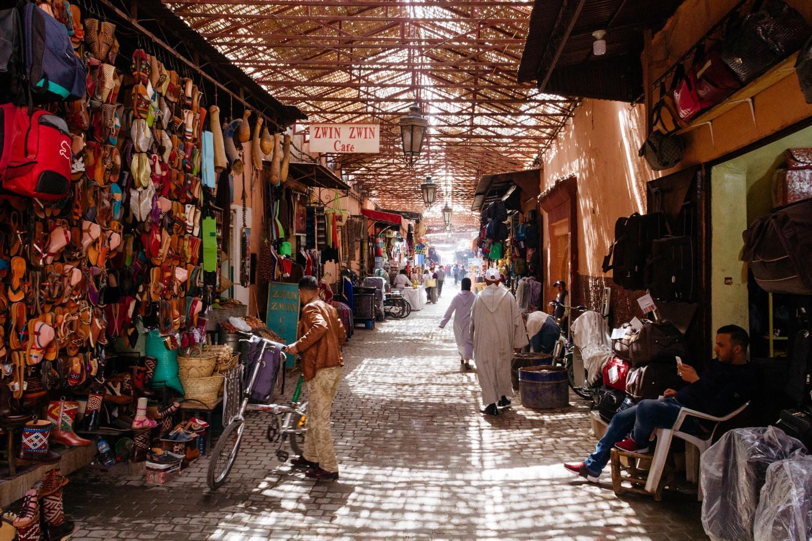 بهترین بازارهای سنتی مراکش