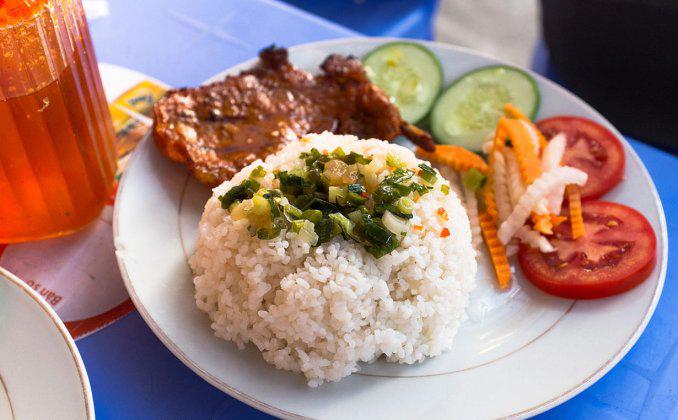 غذاهای خیابانی هانوی