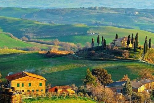 بهشت ایتالیا ، توسکانی