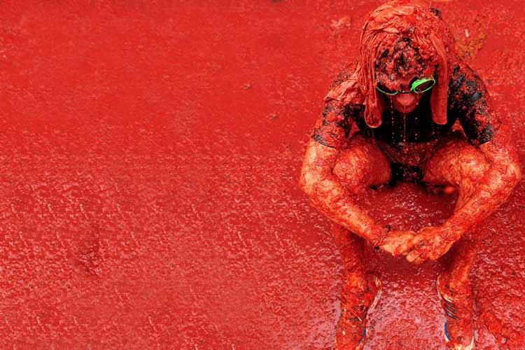 فستیوال گوجه فرنگی اسپانیا