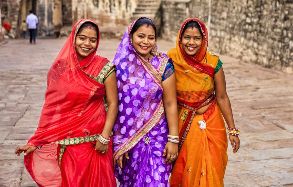 لباس ساری هند