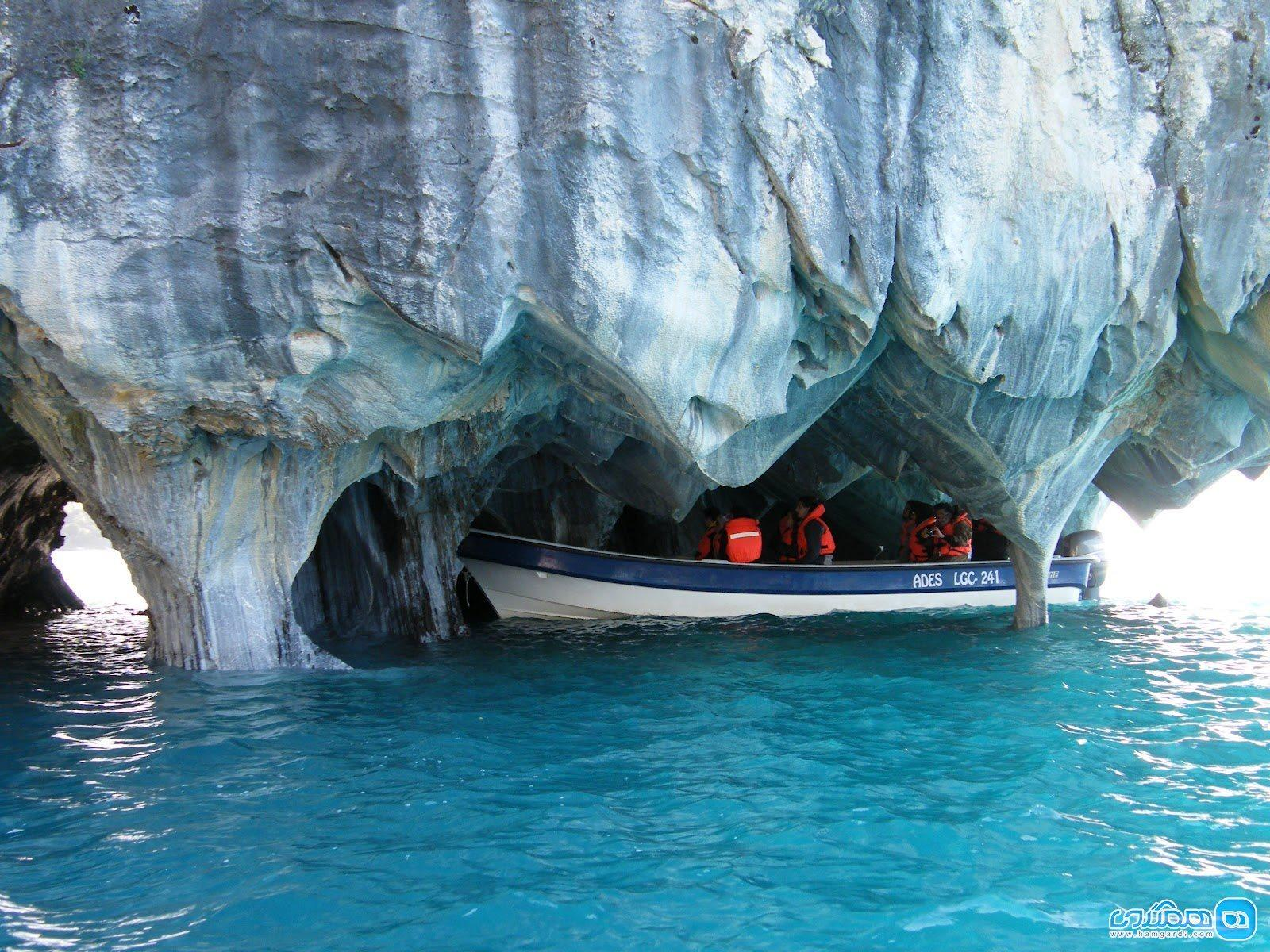 غار مرمر شیلی
