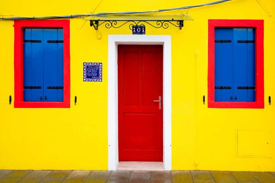 خانه های رنگارنگ ونیز