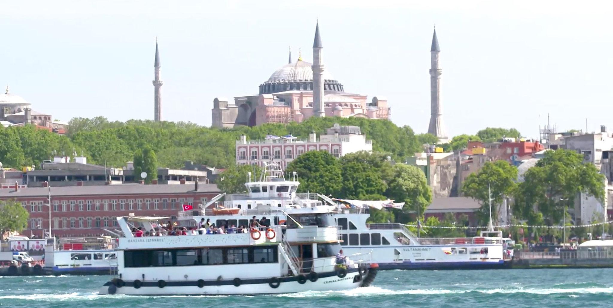 قسمت آسیایی و اروپایی استانبول