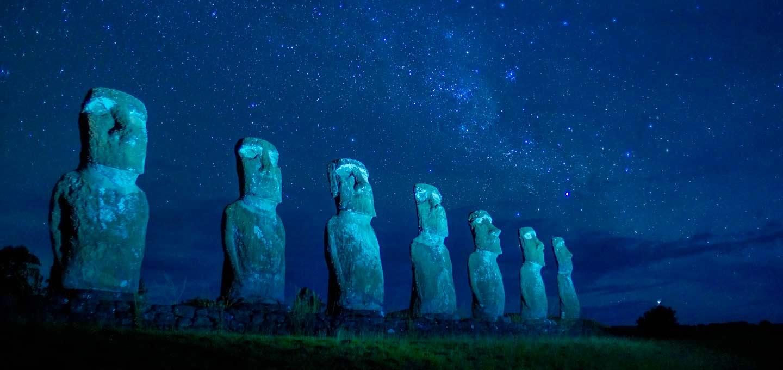 مجسمه های عجیب شیلی