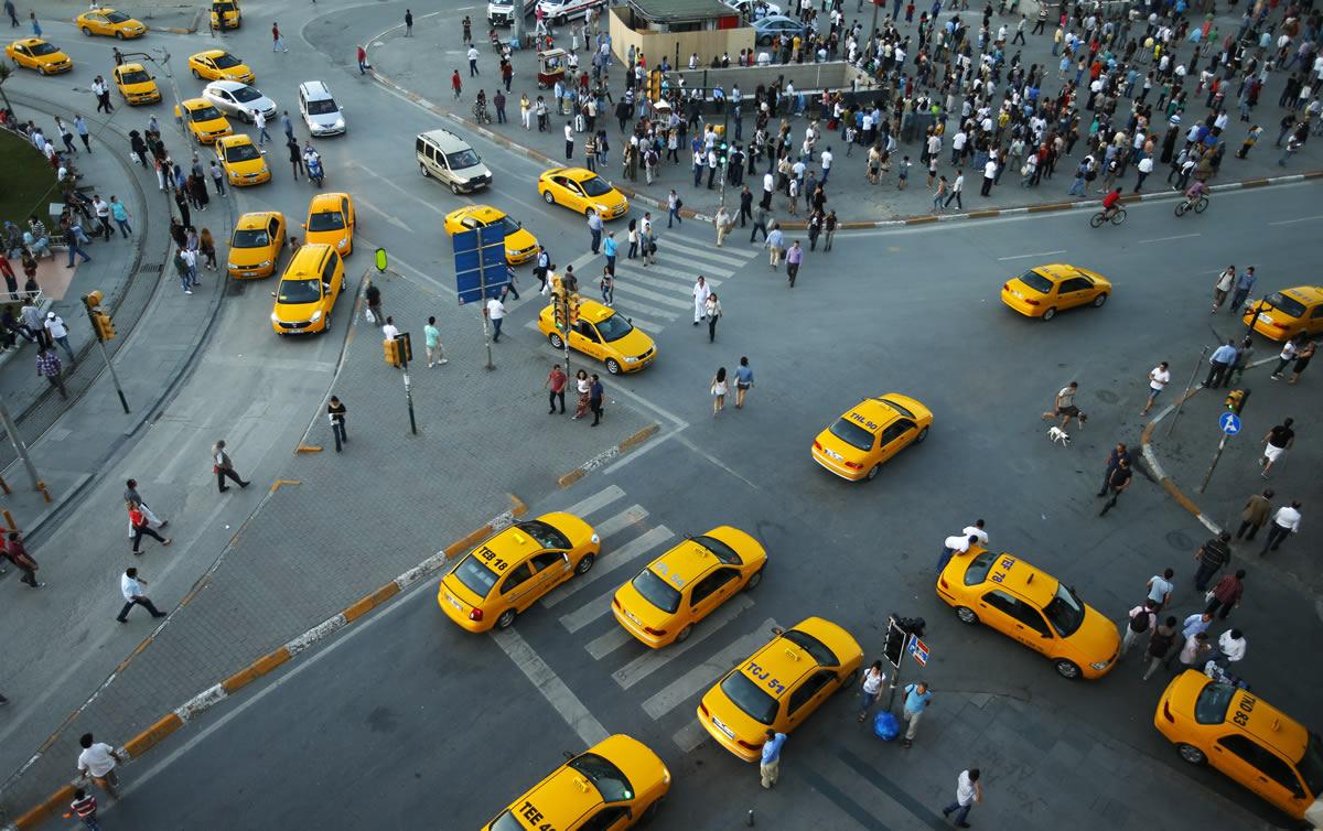 قوانین تاکسی گرفتن در استانبول