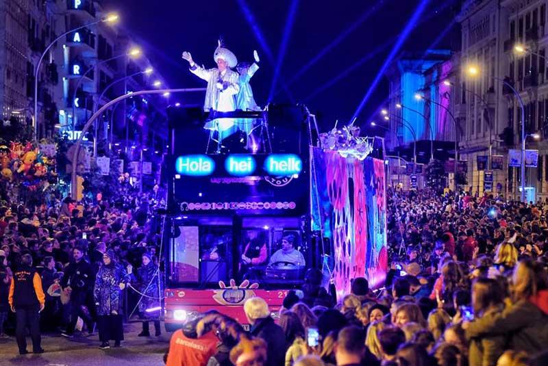 فستیوال سه پادشاه اسپانیا