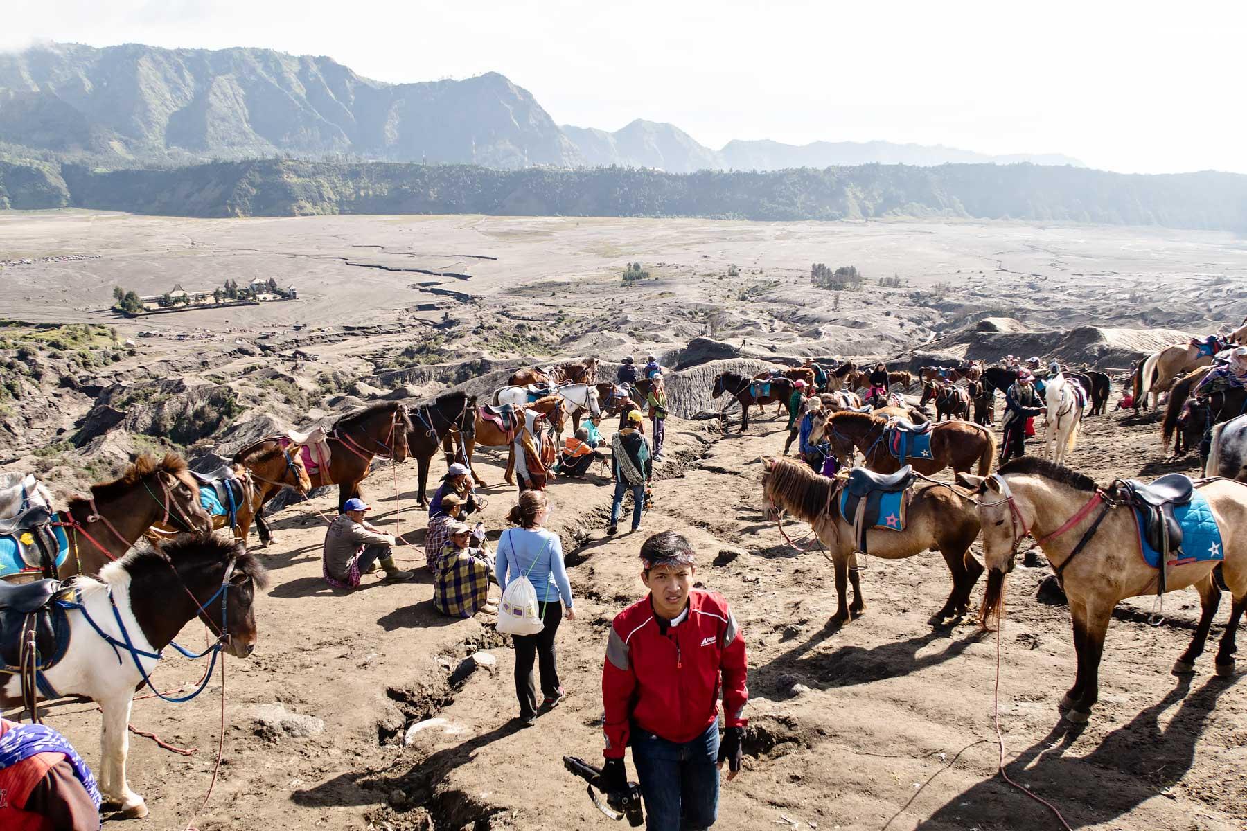 آتشفشان برومو در اندونزی