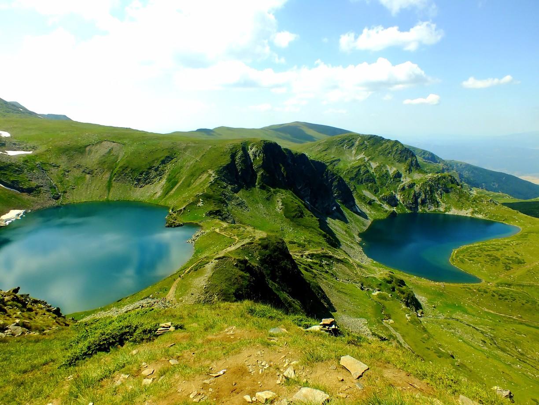 دریاچه های ریلا در بلغارستان