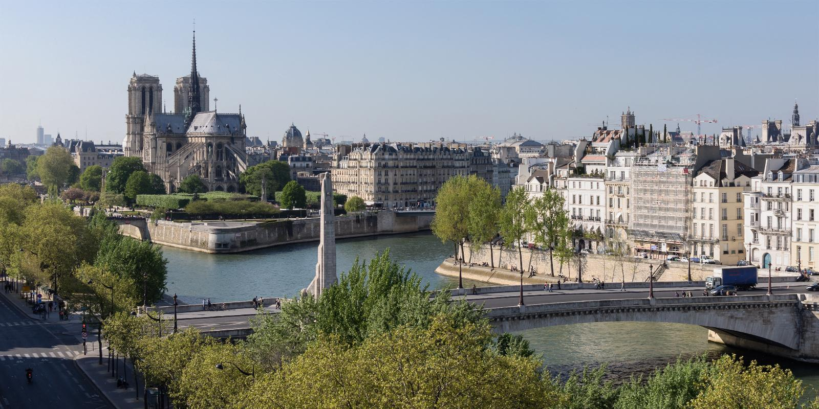 جزیره و پل ایل سنت لویی پاریس