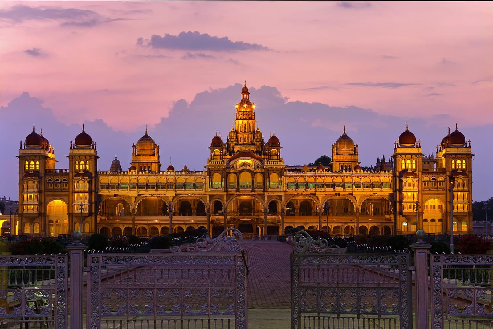 قصر میسور هند
