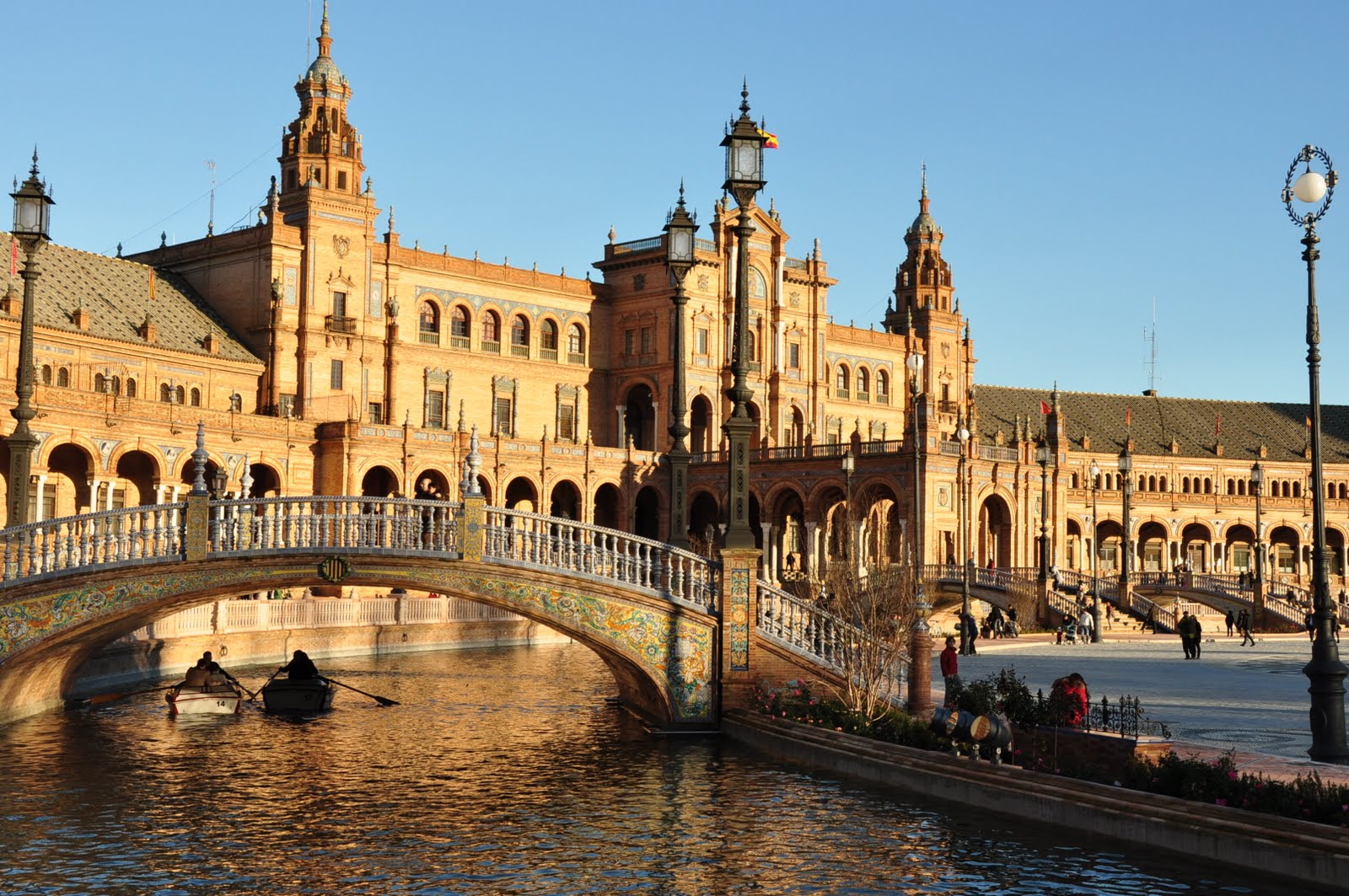 میدان نیم دایره در اسپانیا