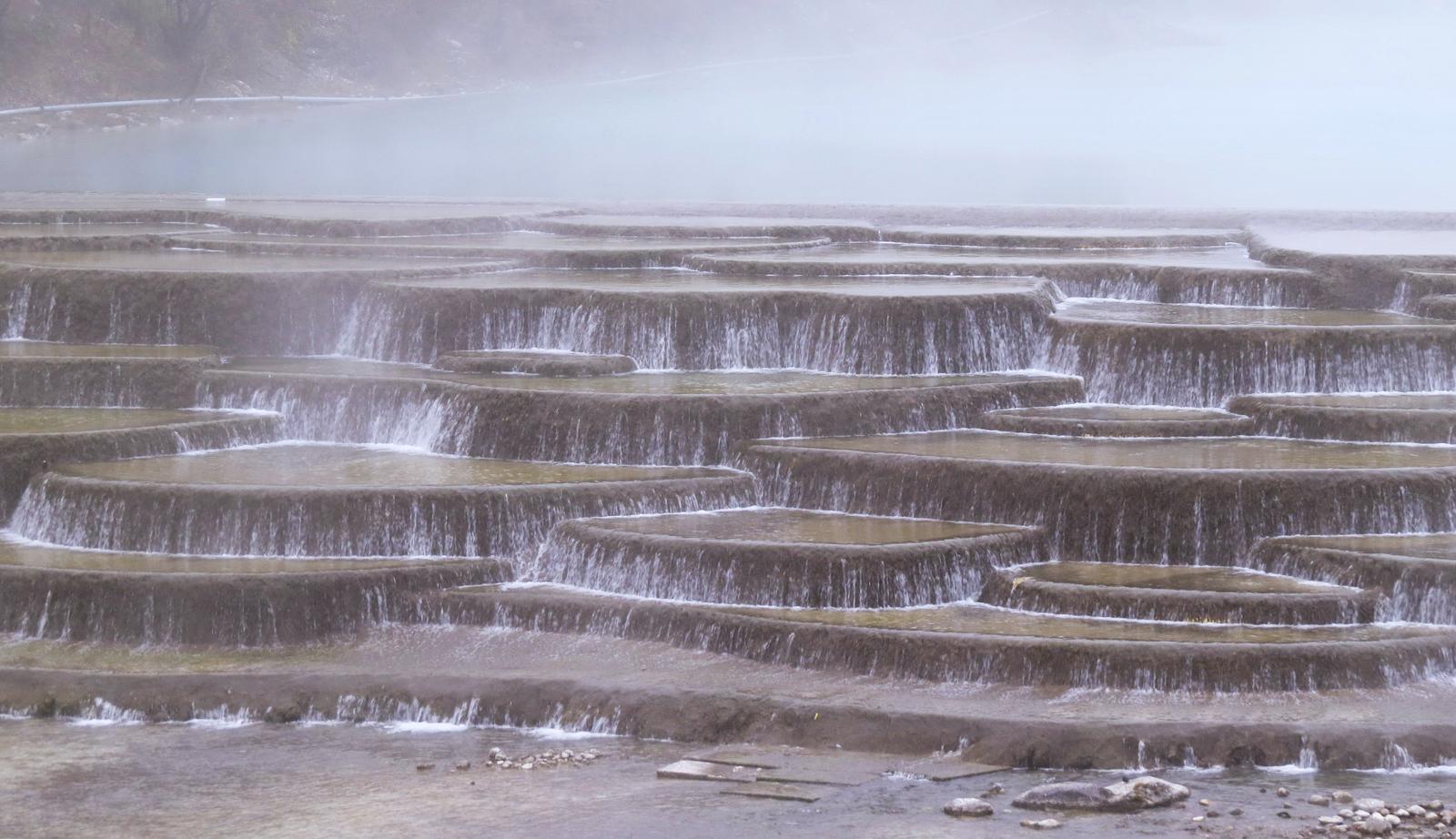 چشمه های پلکانی بایشوتا چین
