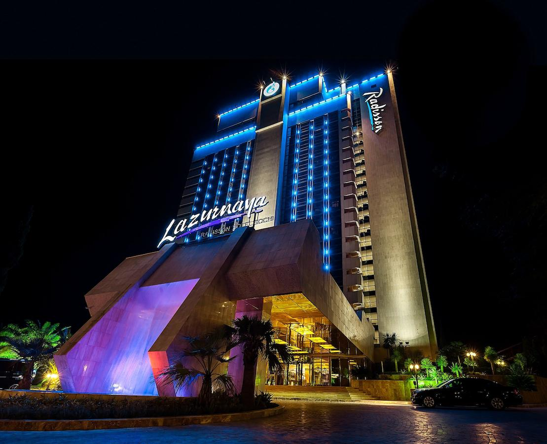 هتل رادیسون لازورنایا سوچی | Radisson Lazurnaya Hotel