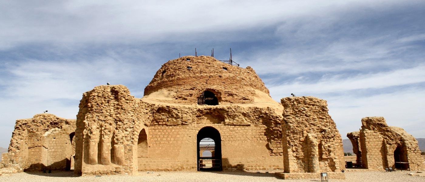 گنبد آجری ساسانی شیراز