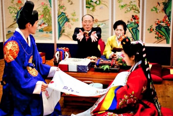 هانبوک لباس سنتی کره