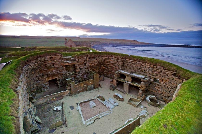 بنای اسکارا بری اسکاتلند