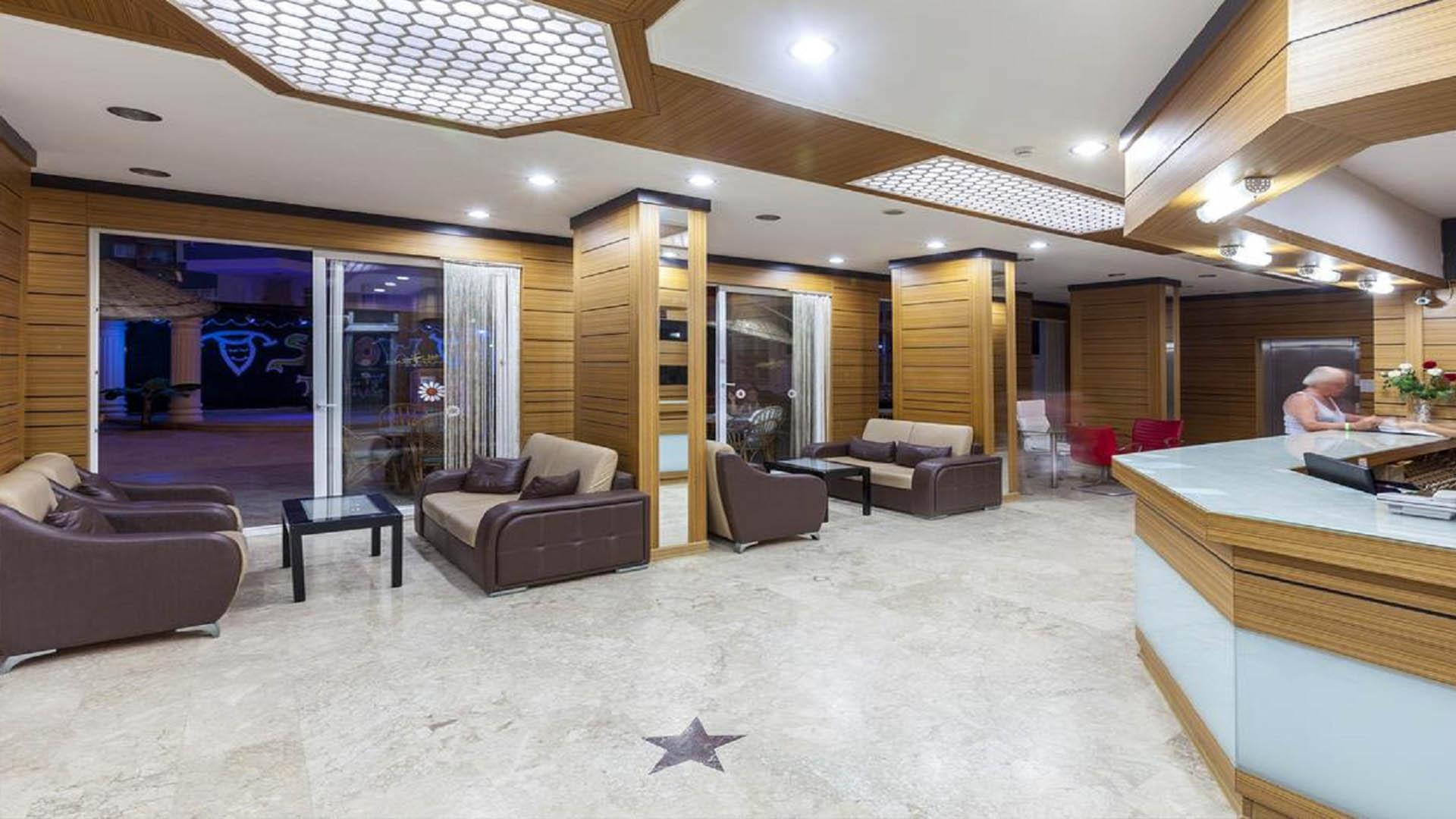 هتل گلکسی بیچ آلانیا