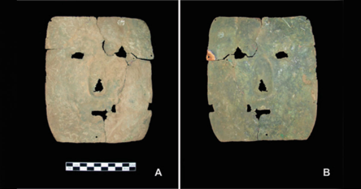 ماسک وحشت 3000 ساله