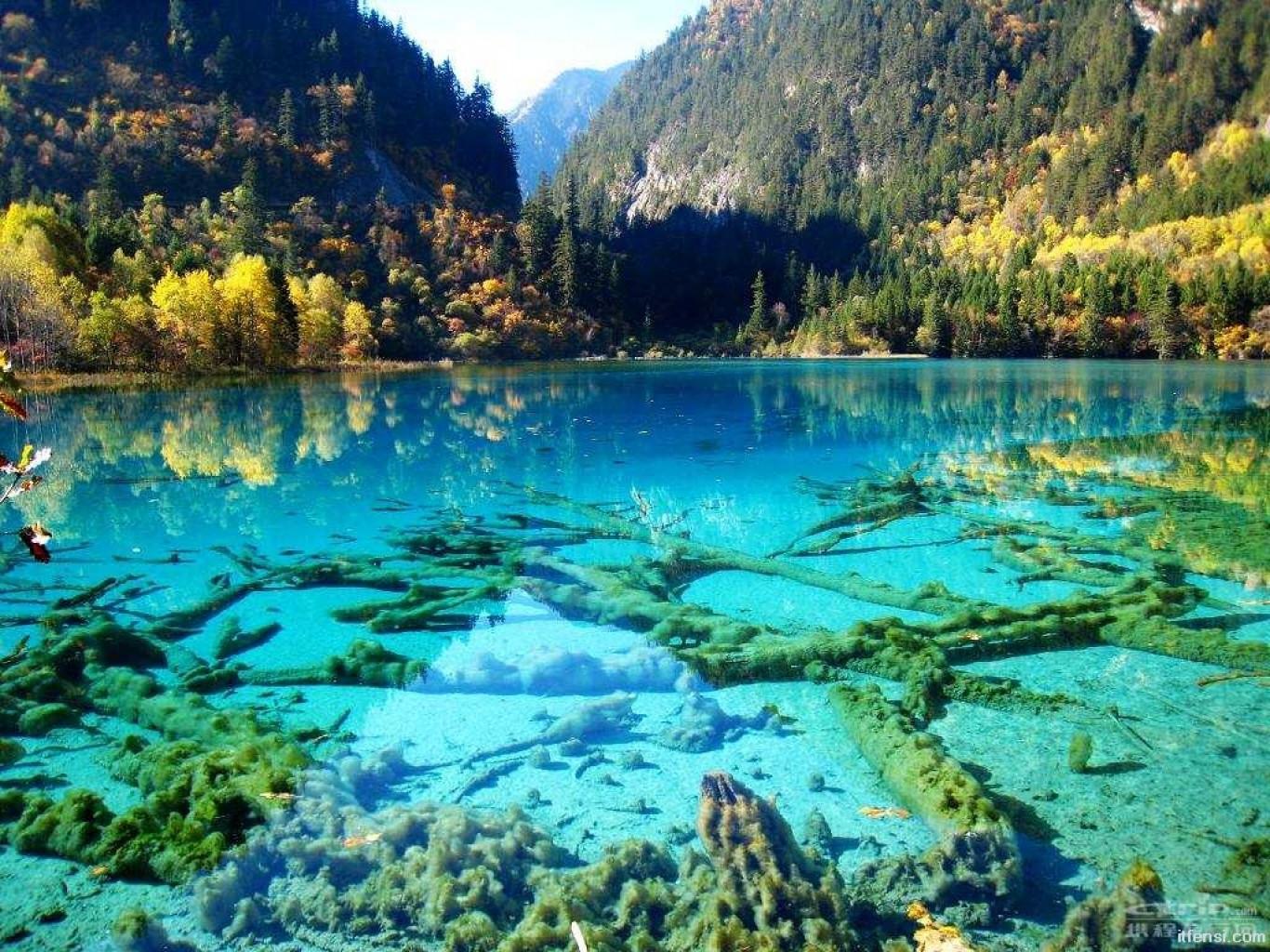 دریاچه پنج گل چین