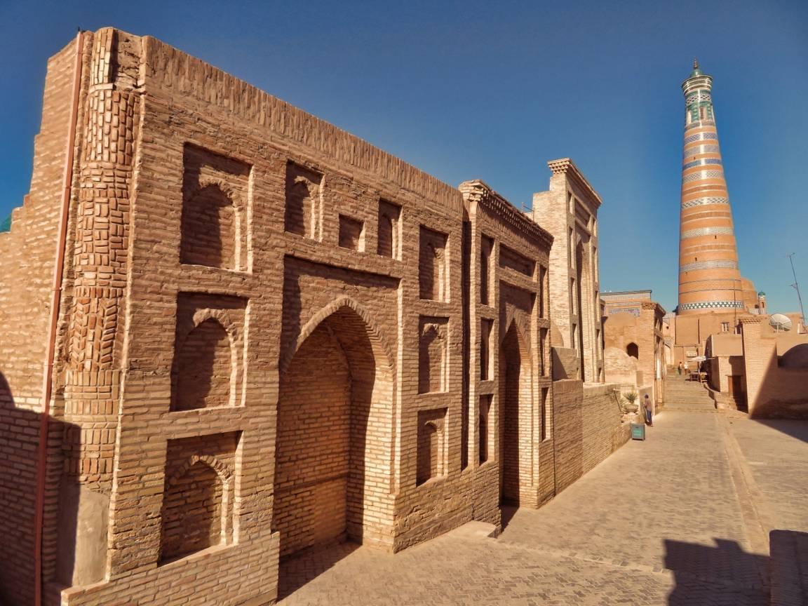 شهر خیوه خوارزم ازبکستان