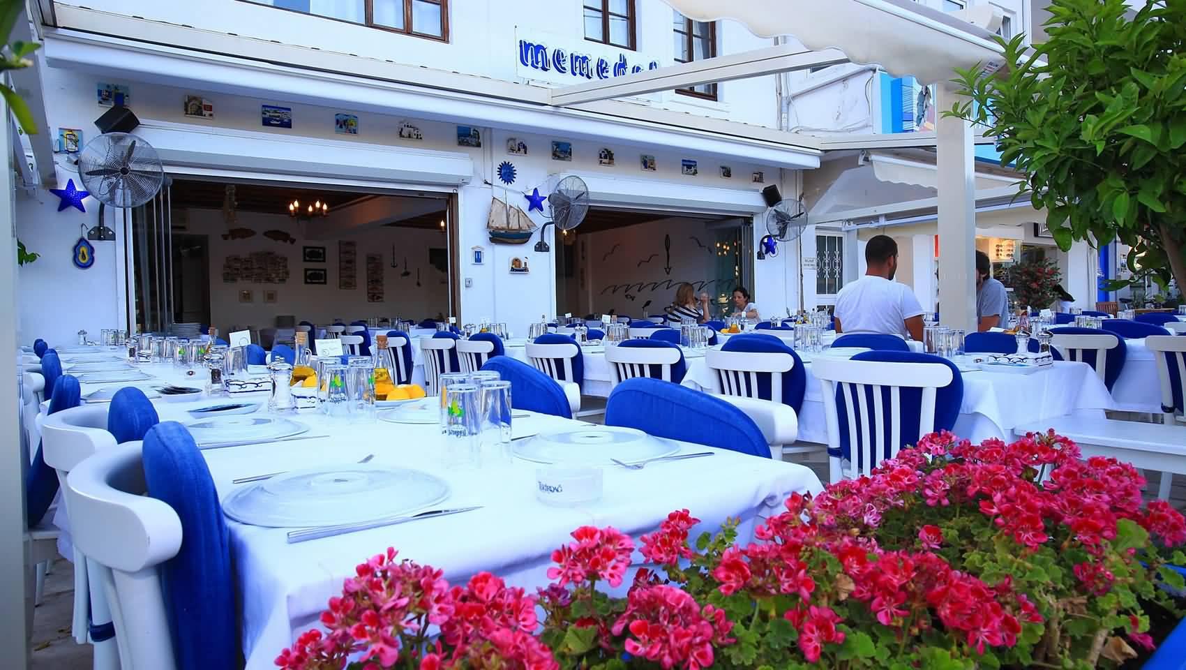 معروف ترین رستوران های بدروم