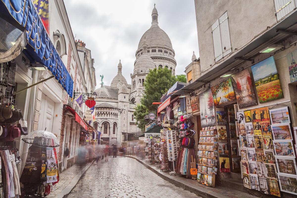 مناطق رومانتیک پاریس