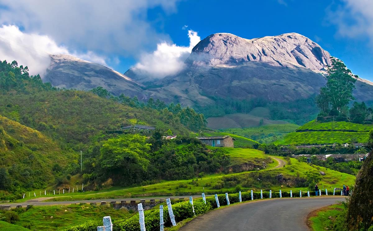 مکان های رنگی رنگی هند