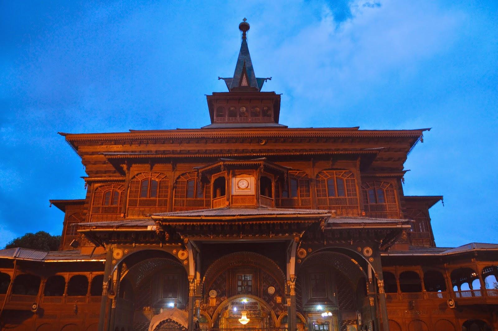 مسجد شاه همدان کشمیر