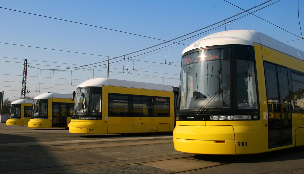 سیستم حمل و نقل برلین