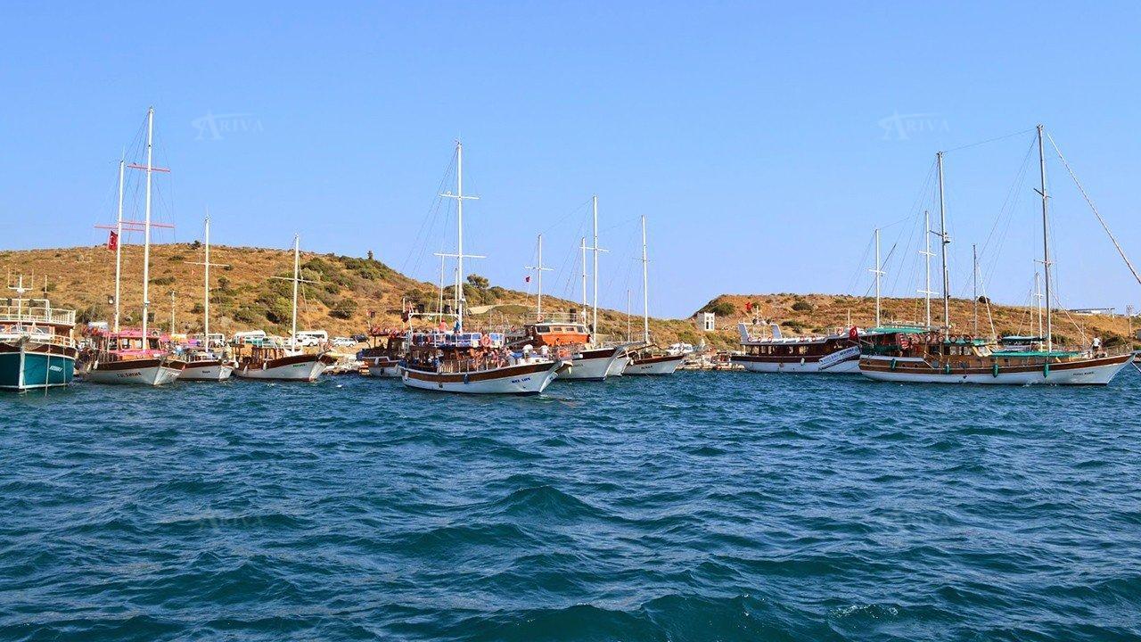 کارا آدا پایتخت قایق رانی ترکیه