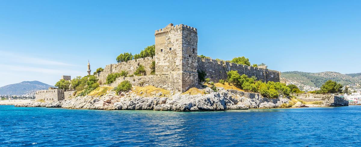 گشت و گذاری در قلعه بدروم