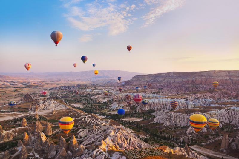 9 منظره طبیعی ترکیه