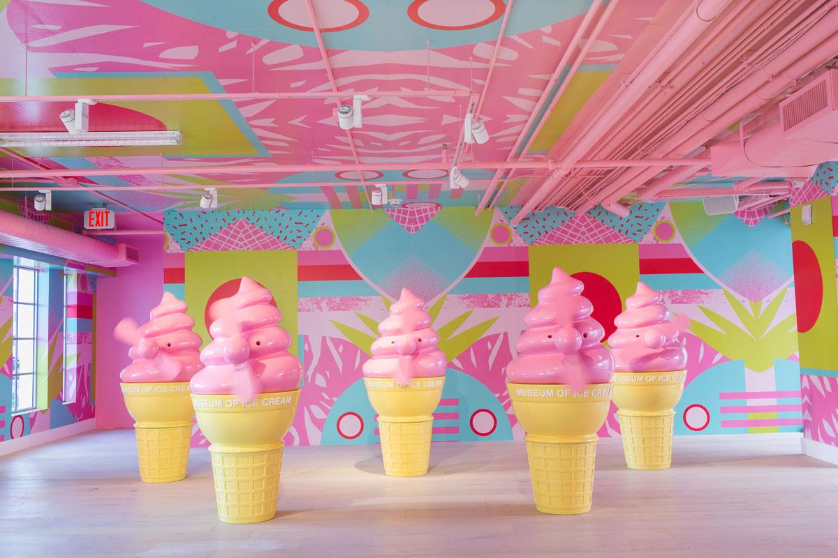 موزه بستنی ، خوشمزه و دوست داشتنی