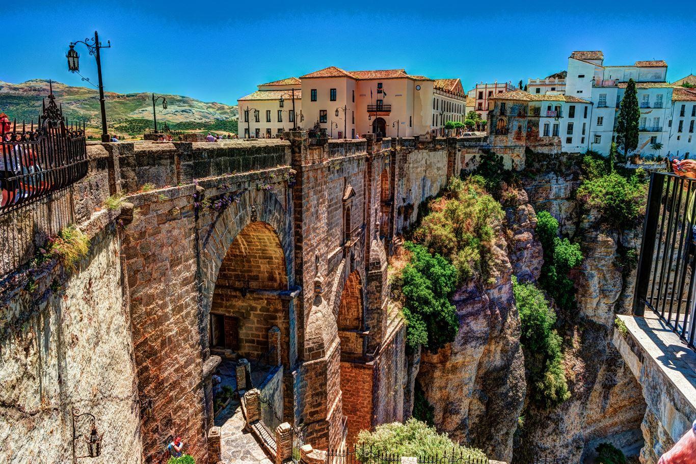 شهر تاریخی روندا اسپانیا