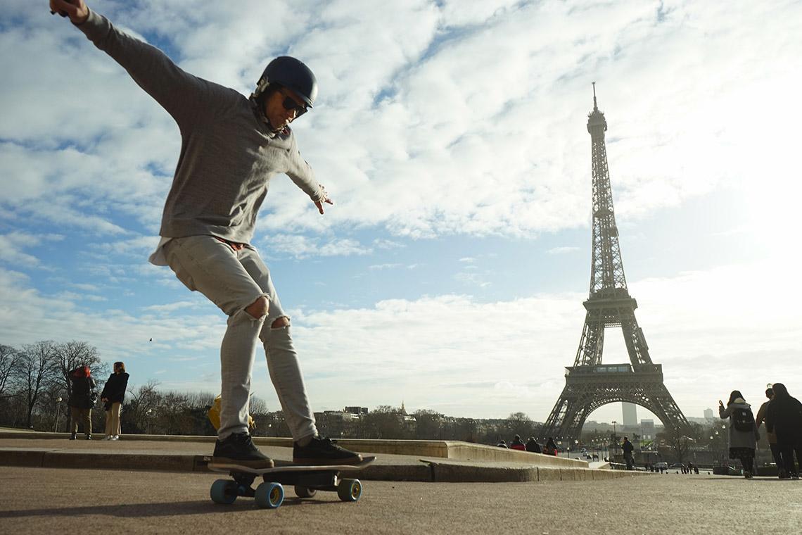 فعالیت های عجیب در پاریس
