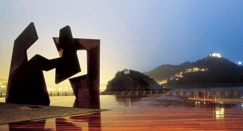 مجسمه های فضای باز سن سباستین