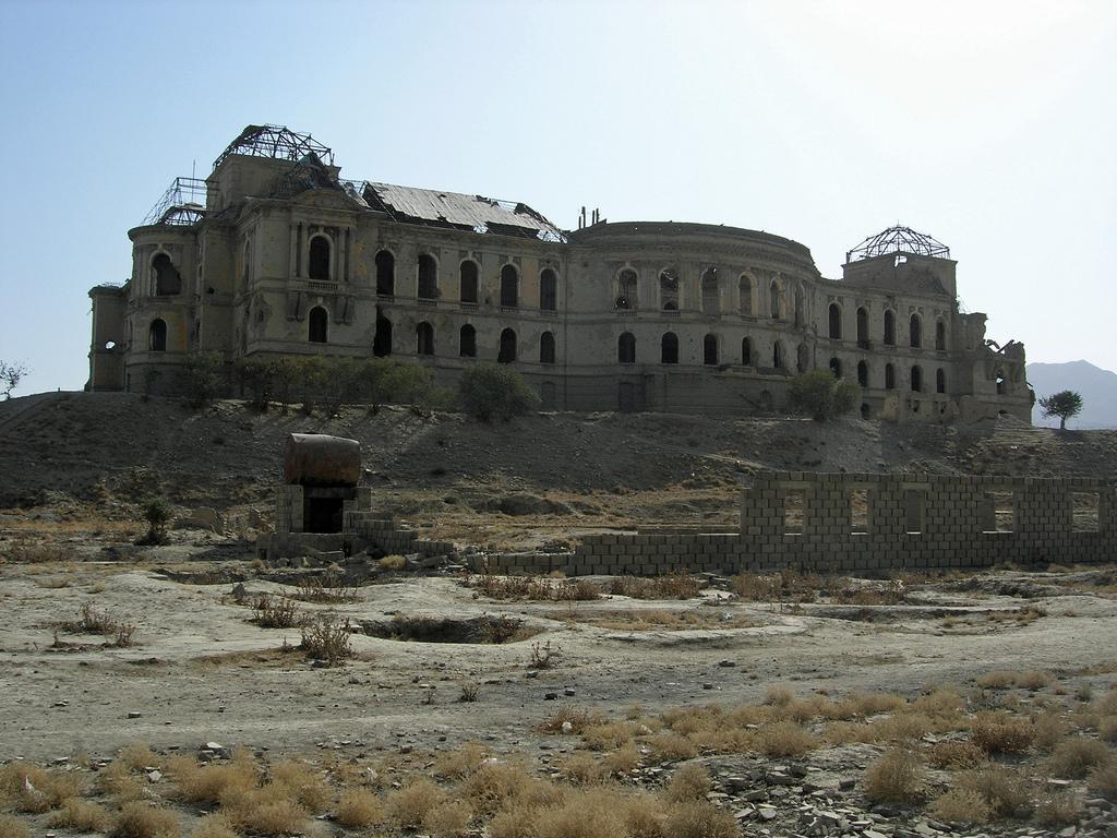 قصر دارالامان کابل