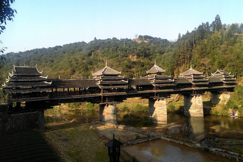 پل های عجیب بدون میخ چین
