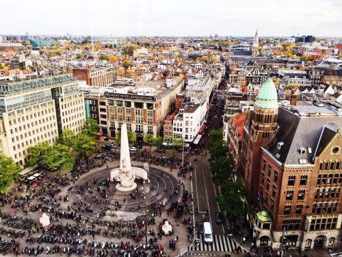 درباره دام معروف ترین میدان آمستردام