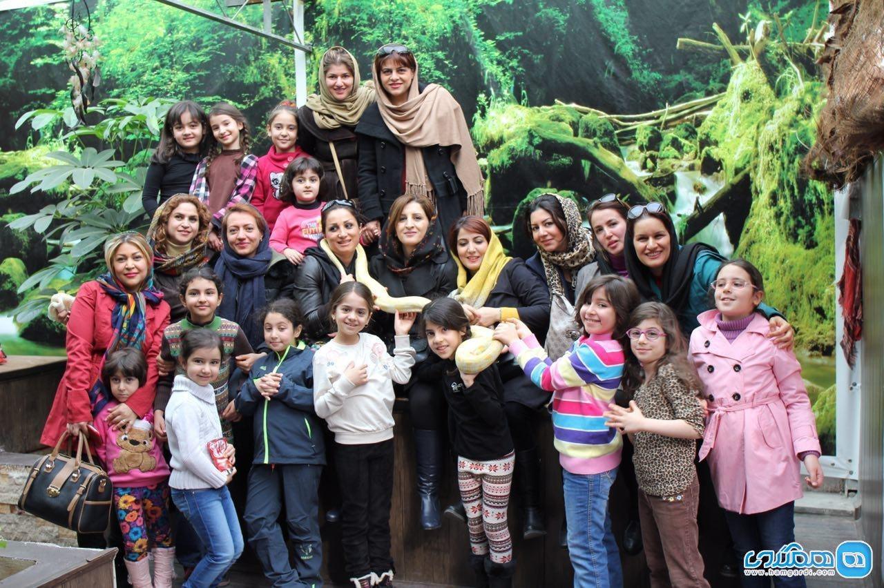 باغ خزندگان زیما تهران