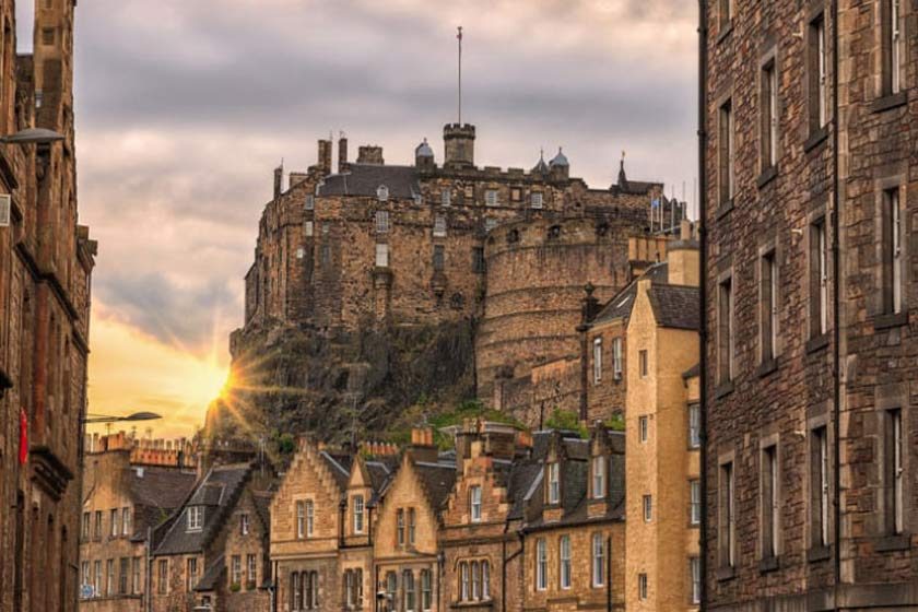 قلعهی ادینبورگ اسکاتلند