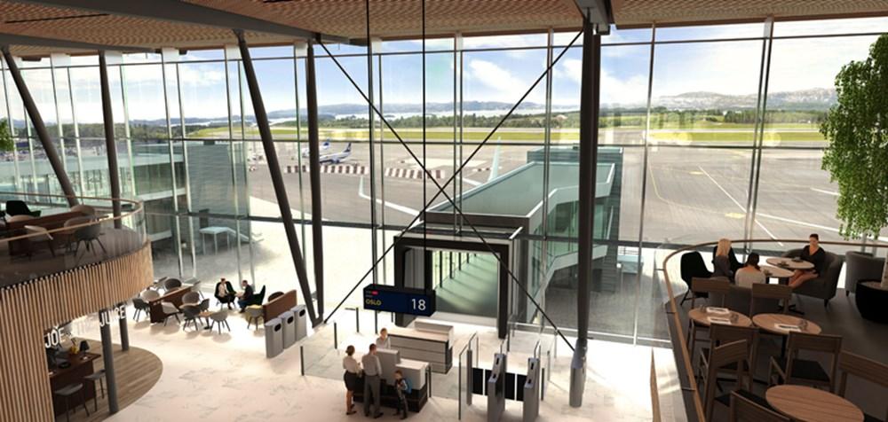فرودگاه بین المللی برگن نروژ