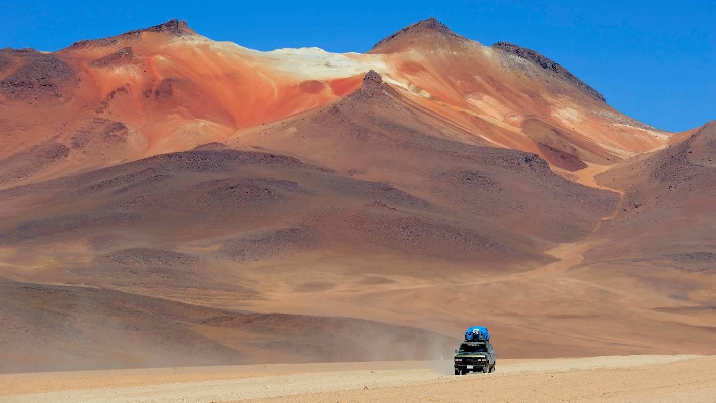 کوه های مریخی صحرای آتاکاما شیلی