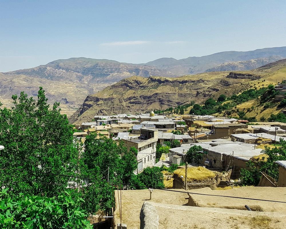 روستای کزج اردبیل