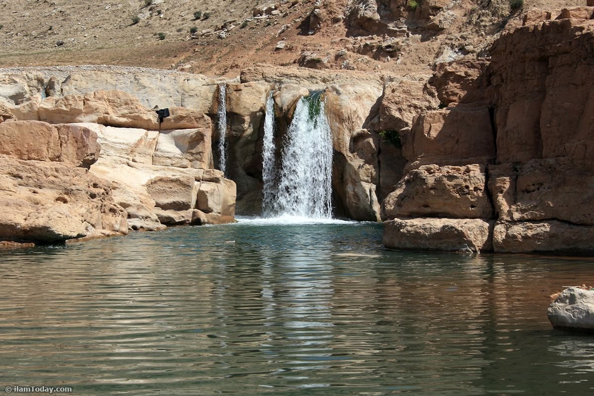 آبشار افرینه خرم آباد