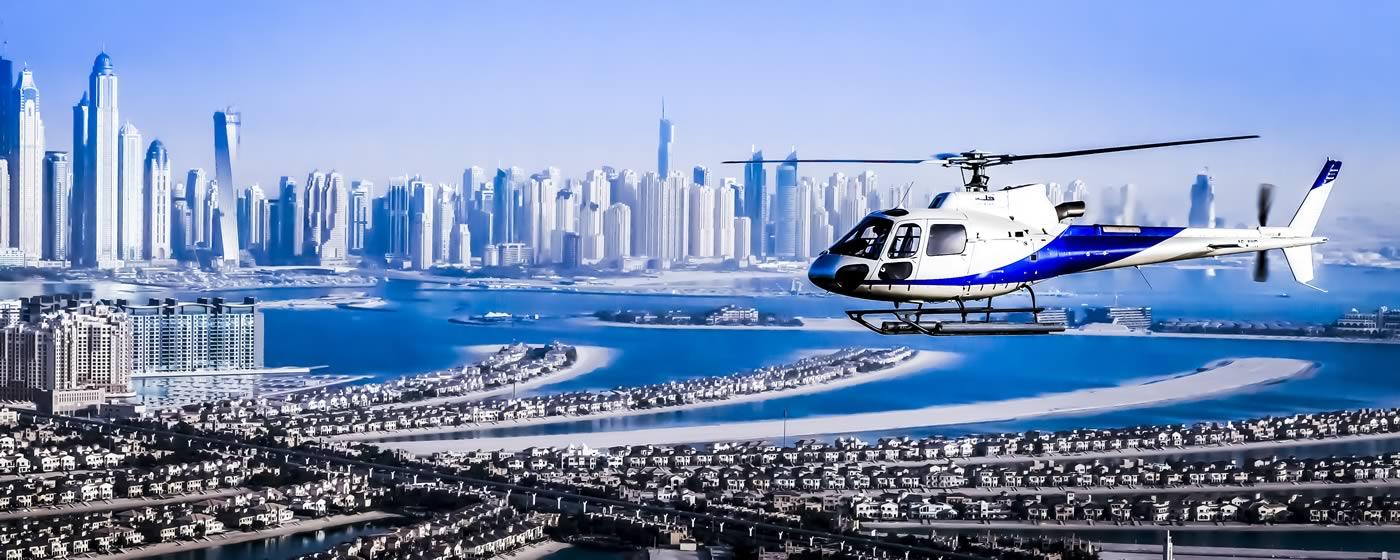 هلیکوپتر سواری دبی