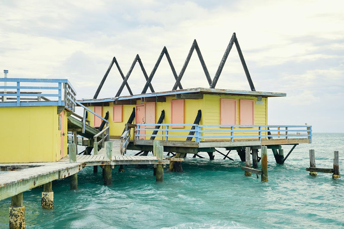 استیلتزویل شهری که روی آب شناور است