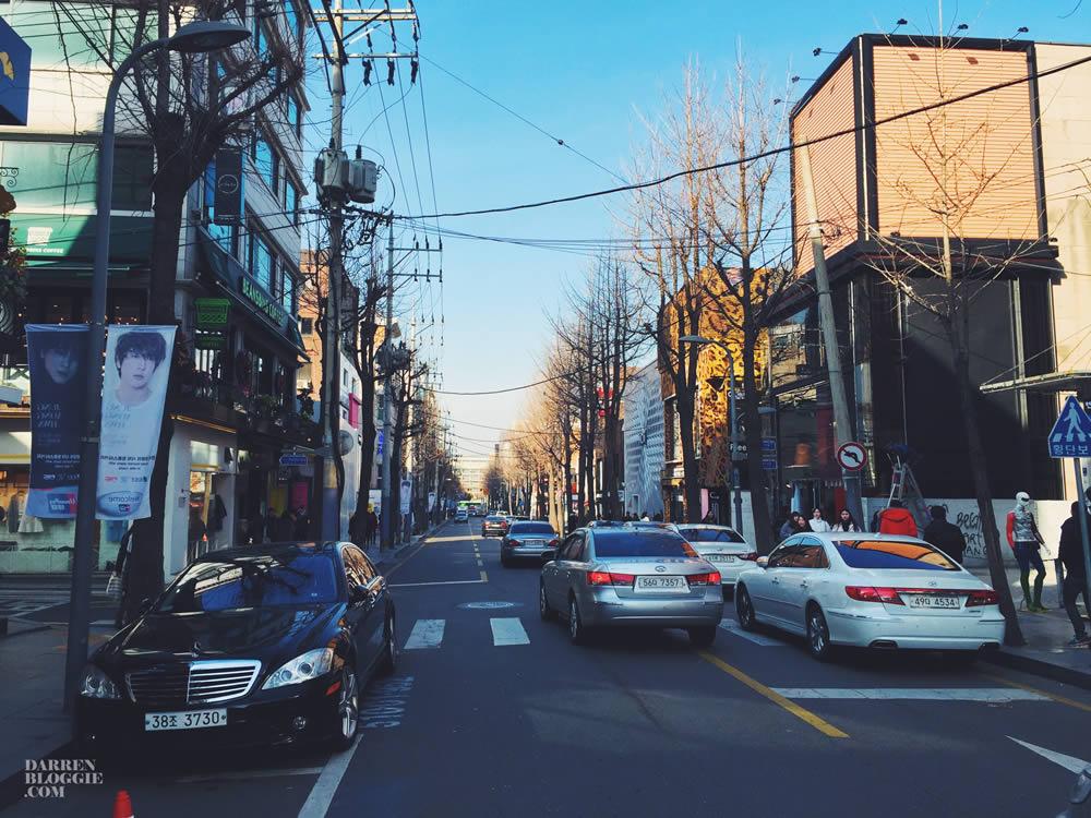 معروف ترین خیابان های سئول